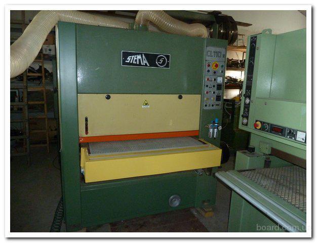 Шлифовально-калибровальный станок Stema  модель CL 110 Италия
