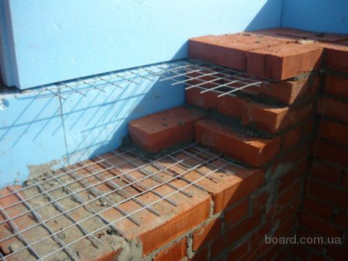 Сетка для кирпичной кладки и армирования бетона размер 100х100х3 В Наличии! Звоните!