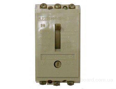 Автоматические выключатели типа АЕ2036м и др.