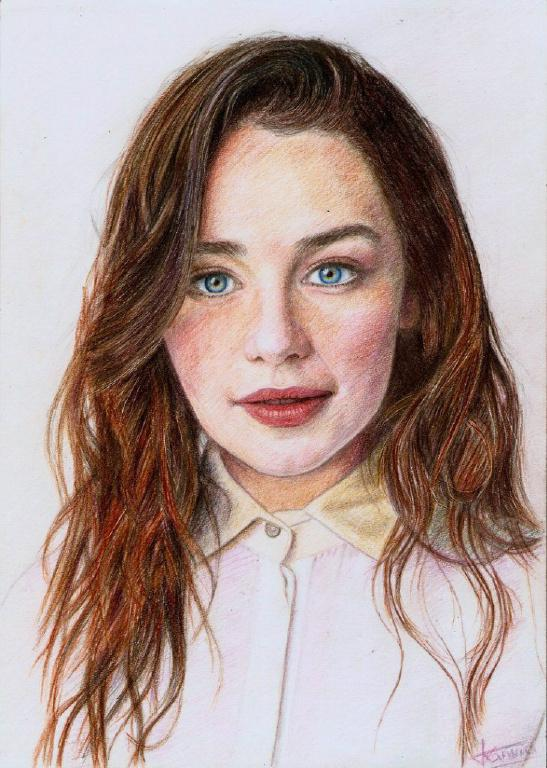 Портреты карандашами по фотографии