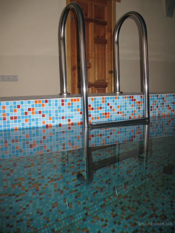 Лестницы для бассейна 3,4,5ступеней. Цена от 3190грн