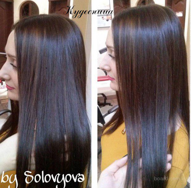 Окрашивание волос - омбре, мелировка, колорирование