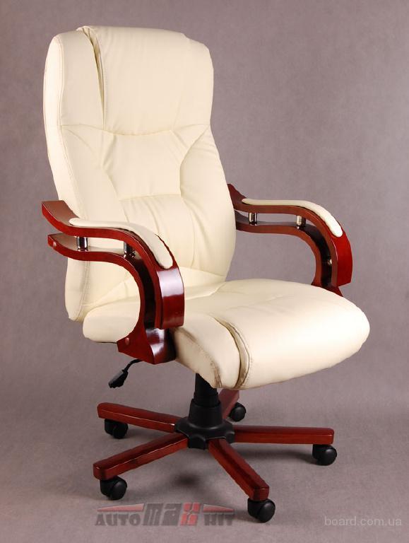 Офисное кресло руководителя Cardinal бежевое