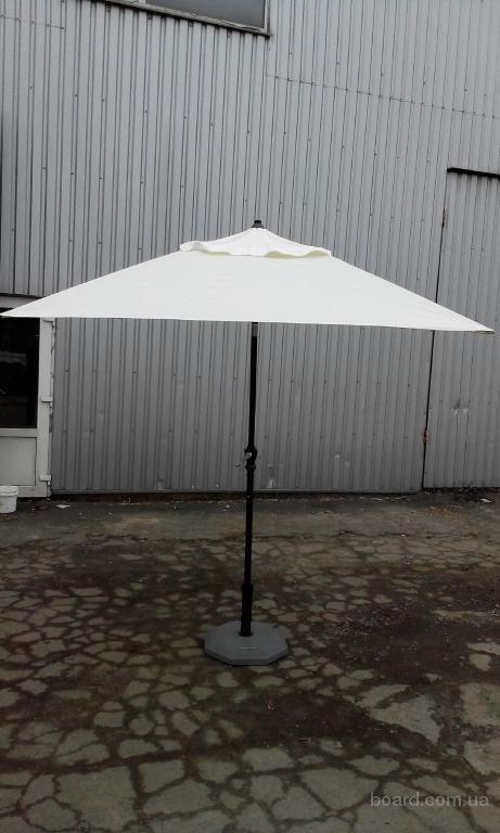 Зонт Майами 2х2 с функцией наклона купола для дома, кафе и ресторанов