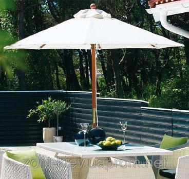 Уличный зонт Палладиум (диаметр - 2.5м) для дома, кафе и пляжа