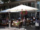 Солнцезащитный зонт Соло (диаметр - 4м) для дома, летних площадок ресторанов и кафе