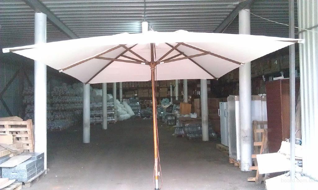 Зонт Прага Люкс 3х4м для дома, летних площадок ресторанов и кафе