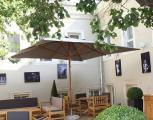 """Уличный зонт """"Вена"""" 4х4м для дома, летних площадок ресторанов и кафе"""