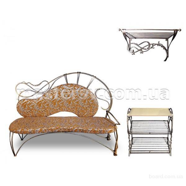 Комплекты кованой мебели для прихожей с доставкой по Украине от компании MasterSV
