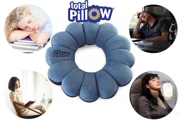 Украина.Практичная подушка трансформер Total Pillow (Тотал Пиллоу)
