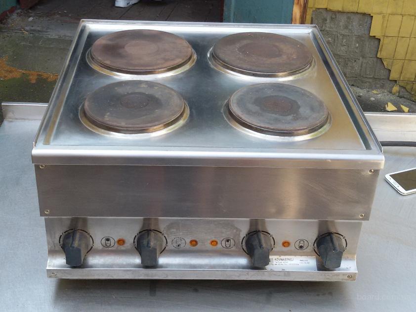 Бу плита электрическая промышленная Kogast для ресторана