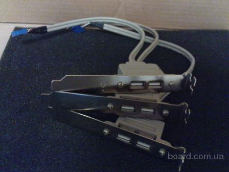 Продам выносные USB порты материнской платы в тыльную, переднюю панели корпуса