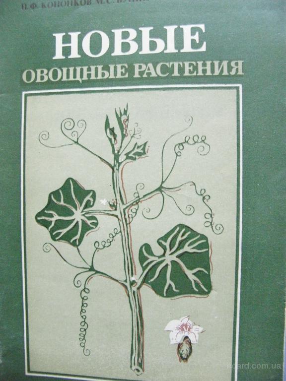 Новые овощные растения, Кононков П.Ф.