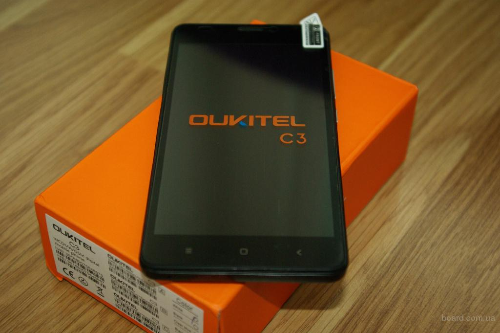 Oukitel C3 Новинка Android 6 IPS 5.0 1/8Gb новый в наличии