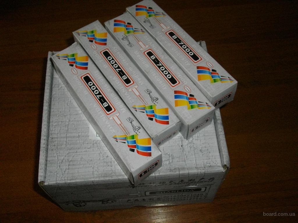 Клей для сенсоров и стекла жидкий скотч B7000 прозрачный 15, 50, 110мл