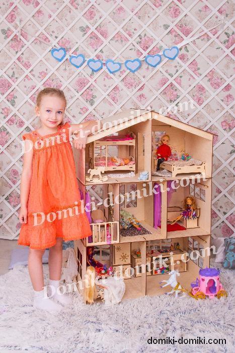 Кукольный домик для Барби! Мебель в подарок!