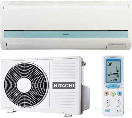 В продаже модели кондиционеров Hitachi (Япония)  с подмесом свежего воздуха