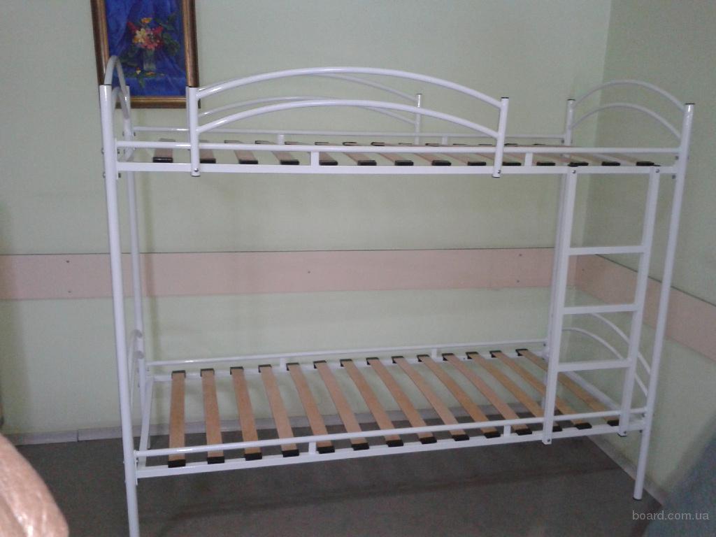 """Кровати металлические двухъярусные """"Эрго"""""""