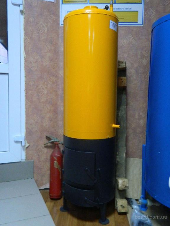 Бойлер-буржуйка Титан (железо) на 80 литров
