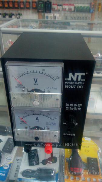 Блок питания NT 1501A DC Регулируемый аналоговый источник постоянного тока  Лабораторный блок питания 1 ампер 1501a dc Подбор аксессуаров чехлы защитн