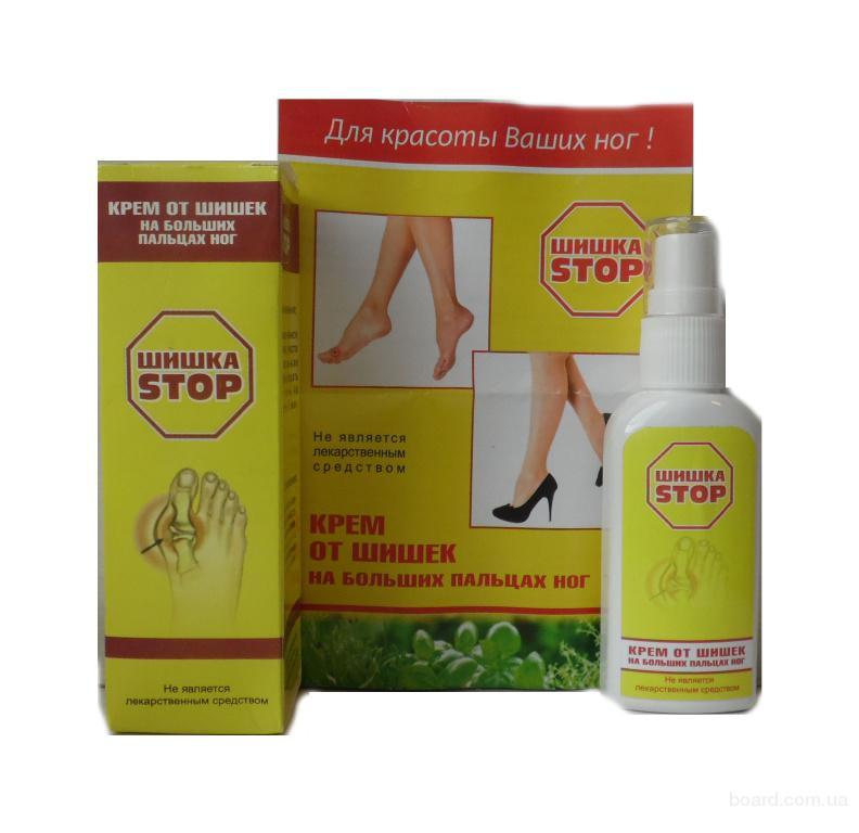 Крем от шишек на больших пальцах ног – шишка STOP