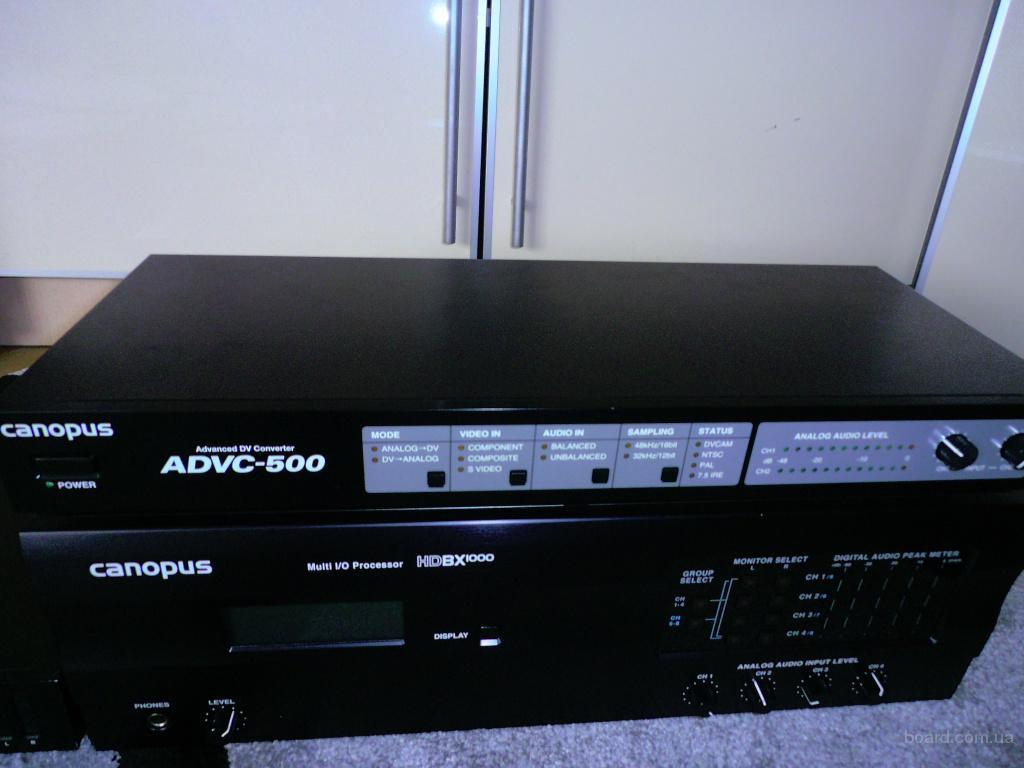 Видеоконвертер Canopus ADVC-500