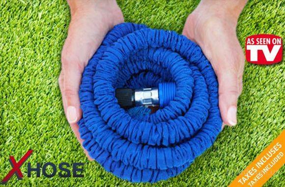 Компактный шланг X-hose Икс-Хоз с водораспылителем 22,5 м