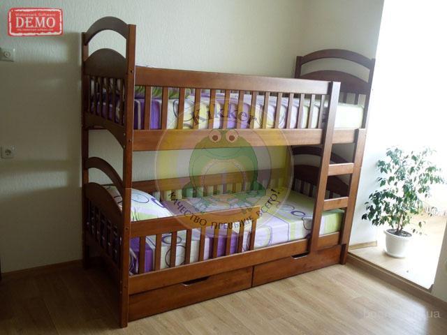 двухъярусная (разборная) кровать из дерева