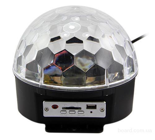 Украина.Проектор диско слой c MP3 плеером LED Ball Лигт