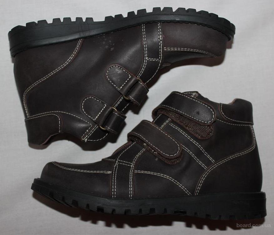 Детские ботинки (кожа, 33, 34, 36, 37)