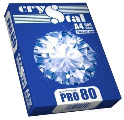 Бумага Crystal Pro80 A4