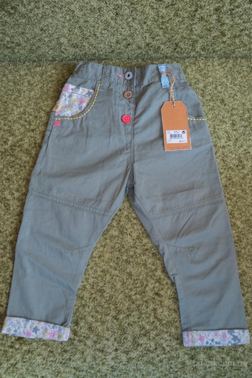 Новые брюки чинос Next (Некст), р. 1.5-2 года (рост 92 см), цвет хаки