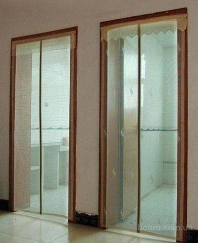 Цина.Антимоскитная дверная сетка на магнитах Magic Mesh (210105 см)