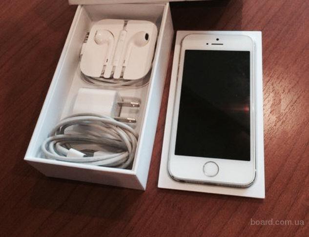 Продам телефон, iPhone 5, белый, как новый+чехол в подарок