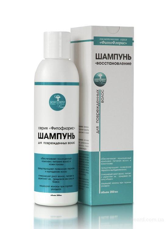 Шампунь «Фитофлорис» для поврежденных волос 200мл