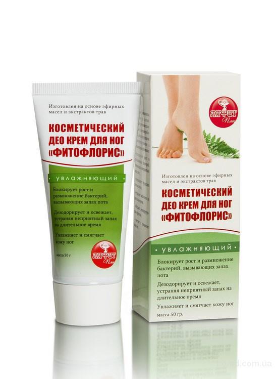 ДЕО крем для ног «Фитофлорис» 50г