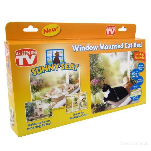 Оконная кровать для кота Sunny Seat window mounted cat бед