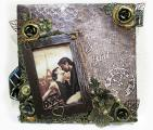 Фоторамка настенная ручная работа, оригинальный подарок на ноый год день рождение годовщину свадьбы
