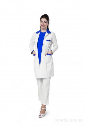 Медицинские халаты, костюмы.