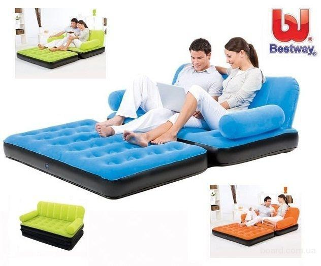 Киев.Надувной диван - трансформер 5 в 1 Sofa Bed (Софа Бэд)
