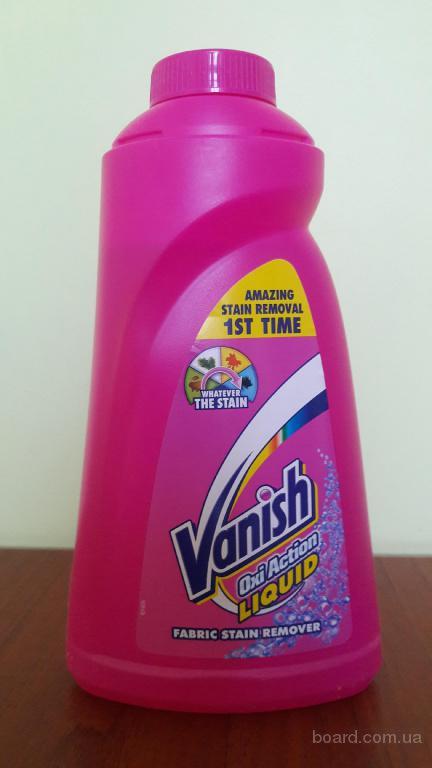 Пятновыводитель для ткани Vanish oxi Action 1л