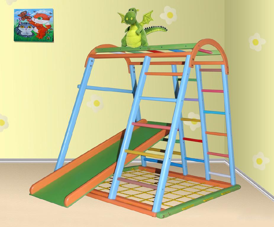 Спортивно-игровой комплекс Дракончик, игровой комплекс для детей, спортивный уголок