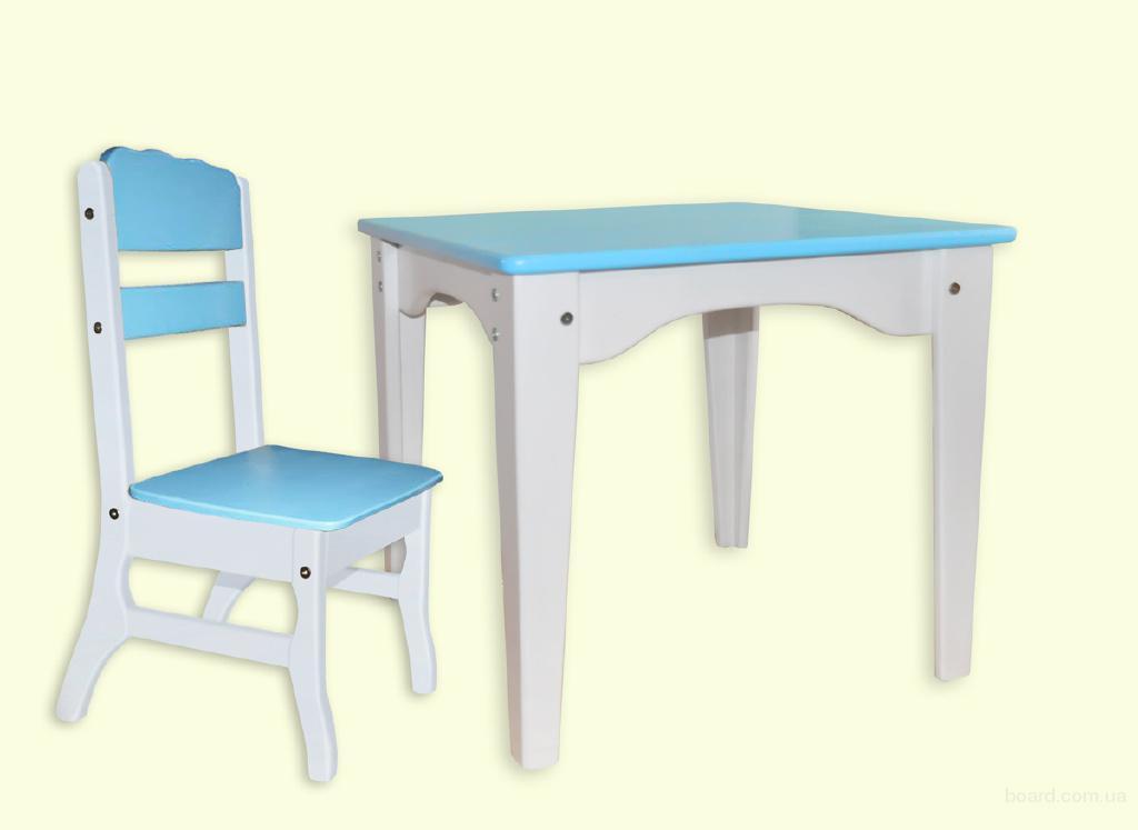 """Комплект мебели для детей """"Морячек"""" - столик и стульчик"""