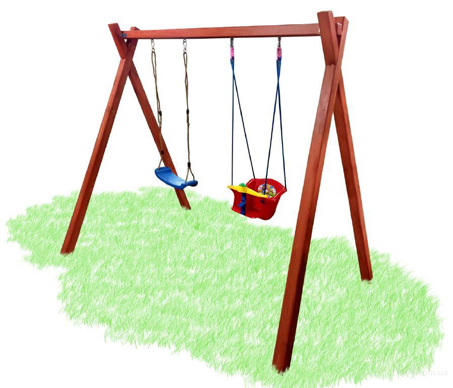 Качели с детским сиденьем, качели садовые