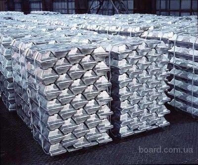 Алюминий первичный: А999, А995, А99, А97, А95, А85, А8, А7, А7Е, А6, А5, А5Е, А0. Минимальный объем 2 000МТ.