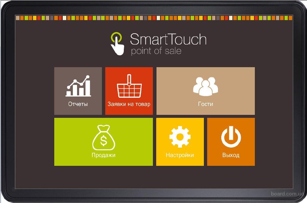 Программа для кафе, ресторана на планшете SmartTouch Mobile