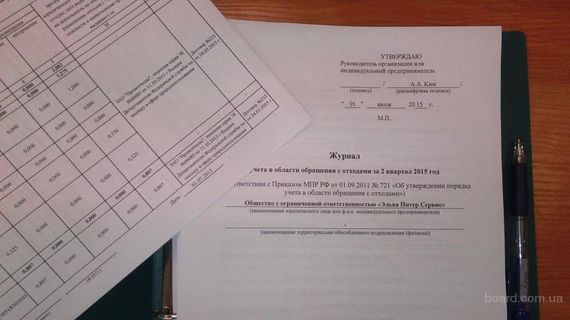 Экологический аутсорсинг в Санкт-Петербурге