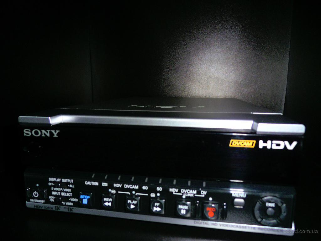 Профессиональный hdv, dvcam, dv, mini dv видеомагнитофон sony hvr-m15e