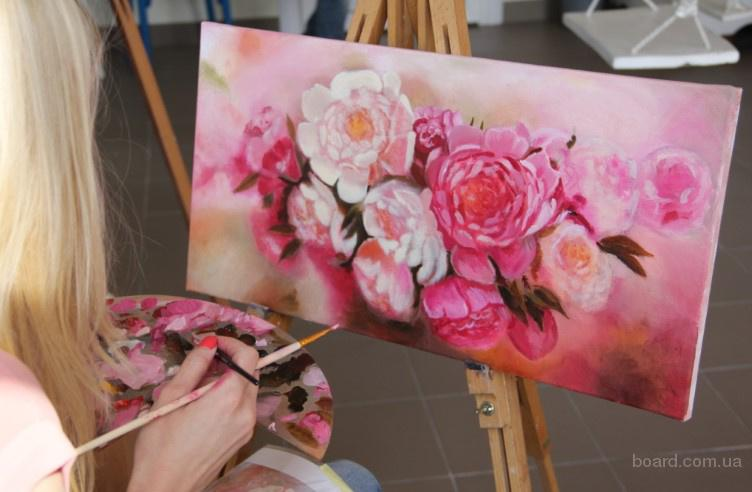Заняття та майстер-класи з живопису та декоративно-прикладного мистецтва!