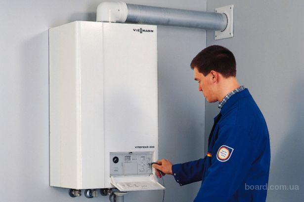 Установка двухконтурного газового котла в Одессе от 200грн
